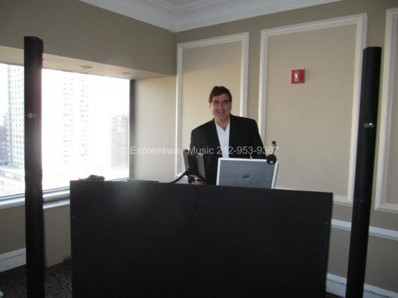 DJ David Swirsky at Upper STory Wedding NYC