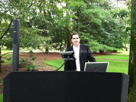DJ Dave Swirsky at Wedding Ceremony