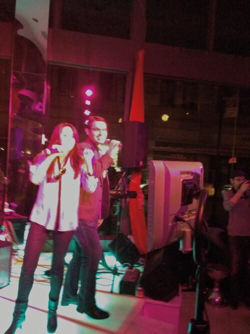 Karaoke Dj Party At Toshis Living Room Nyc Expressway Music Dj Nyc