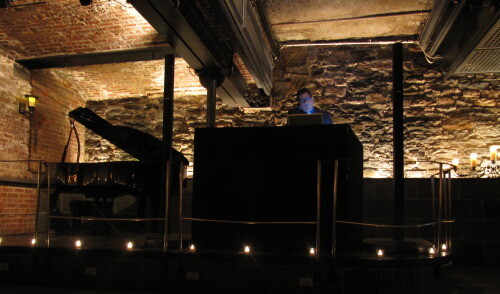 DJ Dave Swirsky at City Hall Restaurant
