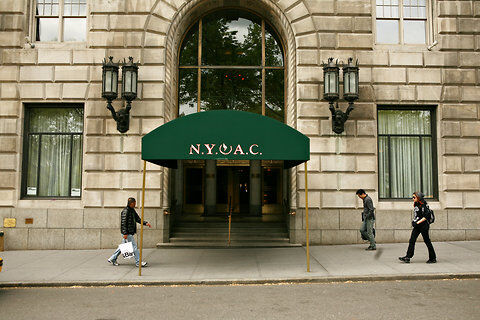 Front entrance of N.Y.A.C