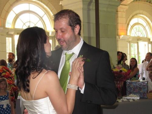 Bride and Groom in Brooklyn ny
