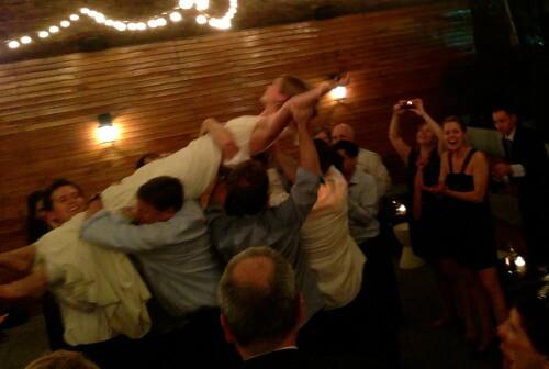 Fun Wedding NYC with DJ Dave Swirsky