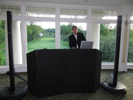 DJ Dave Swirsky at Scarsdale country club