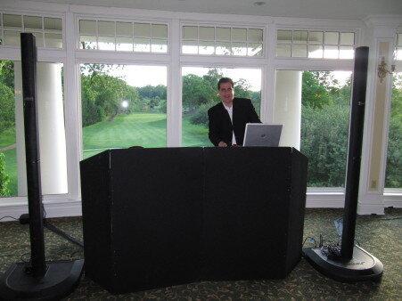 DJ Dave Swirsky at Scarsdale country club