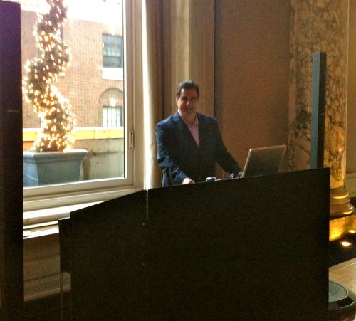 W Hotel Wedding DJ