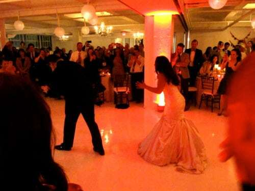 8 minute first dance from bride and groom!