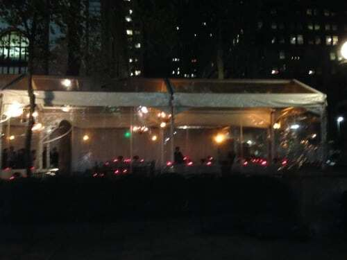 Bryant Park Grill party