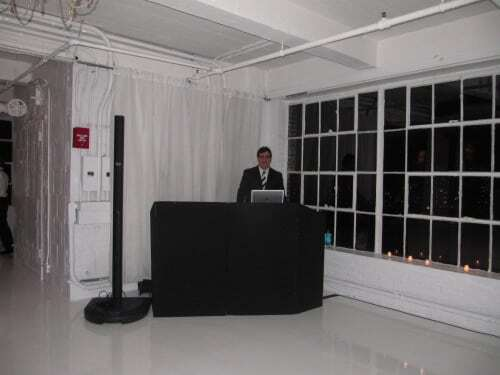 DJ Dave Swirsky at Studio 450 NYC