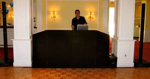 DJ Dave Swirsky at Fairfield Country Club