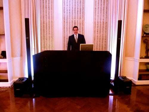 DJ Dave Swirsky at Harold Pratt House for Wedding