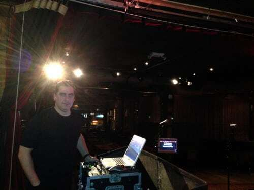Expressway Music DJ Dave Swirsky at City Winery for Karaoke party