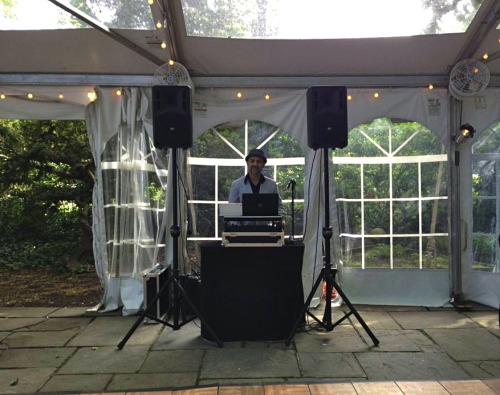 Expressway Music DJ Alberto at New Leaf Restaurant