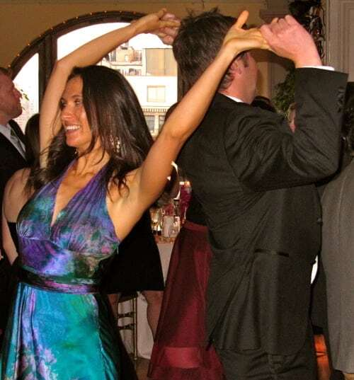 Dancing at the Manhattan Penthouse