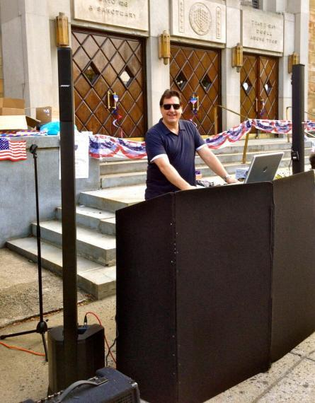 DJ Dave Swirsky at Forest Hills Event