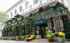 Front view of Bryant Park Grill NYC