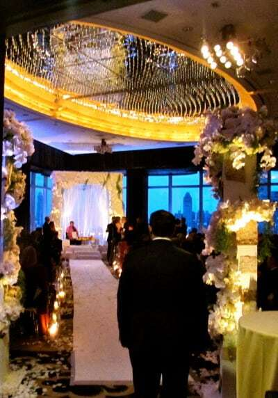 Mandarin Hotel Wedding Ceremony NYC