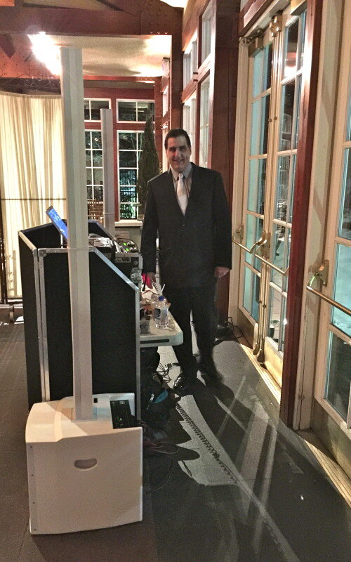 DJ Dave Swirsky at Central Park Boathouse Wedding