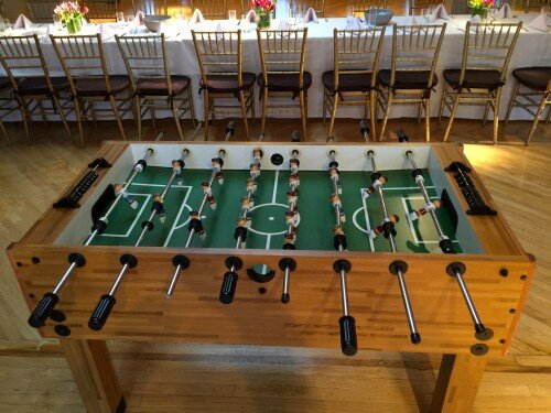 Foosball at Manhattan Penthouse
