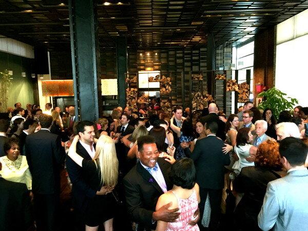 Full Dance Floor Tribeca Wedding