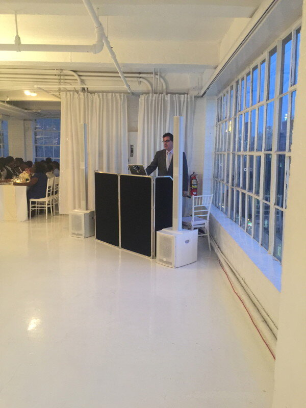 DJ Dave at Studio 450 Wedding