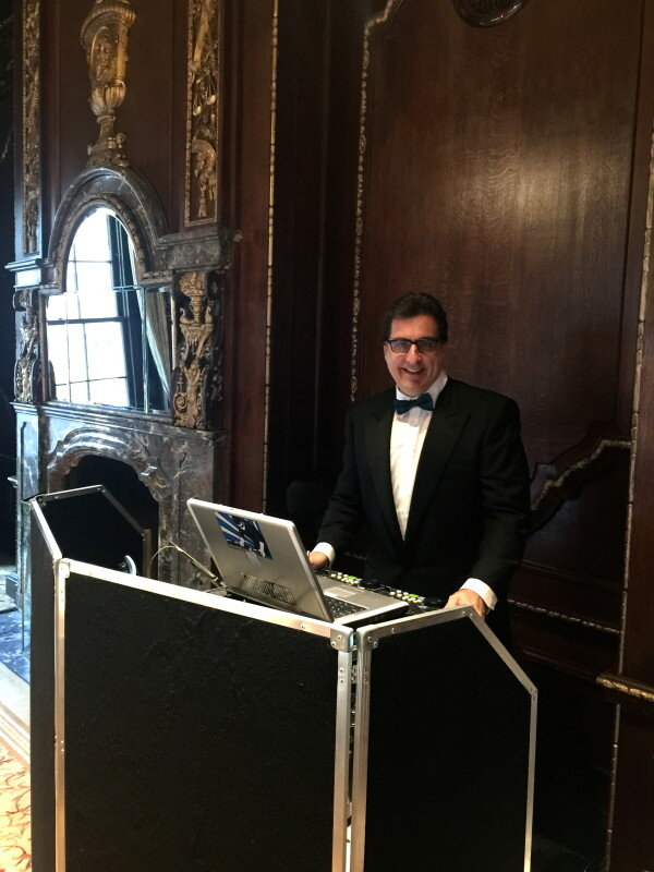 DJ Dave Swirsky at NY Palace hotel for Wedding
