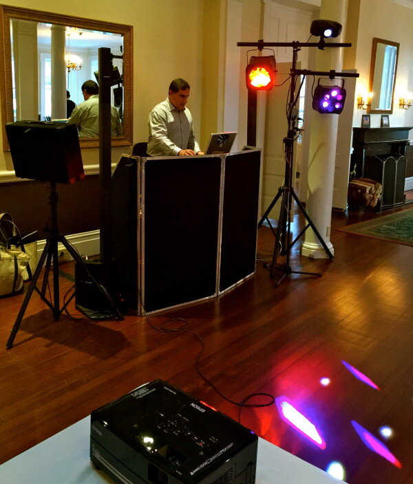 india house dj set up