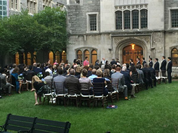 union theological seminary wedding ceremony
