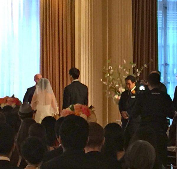 Yale Club Wedding