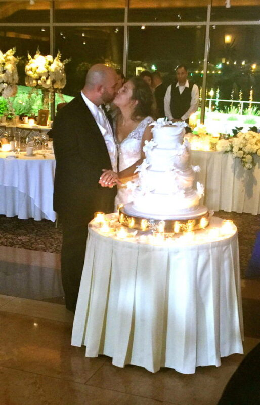Cake Cutting at Glen Island Harbour Club