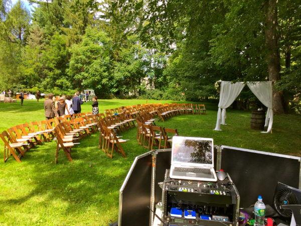 Shadow Lawn Wedding Ceremony