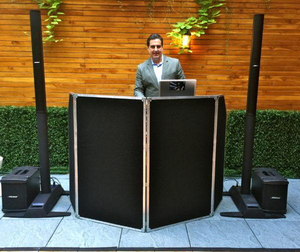 Aretsky's Patroon DJ Set Up