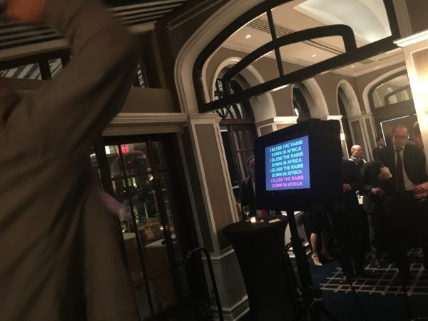 karaoke at the Yale Club