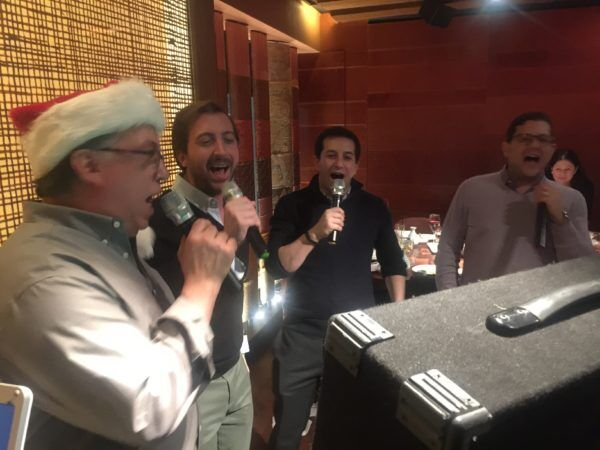 karaoke singers at Zuma