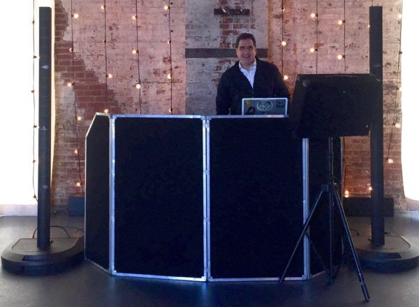 DJ Dave Swirsky at Brooklyn Bat Mitzvah