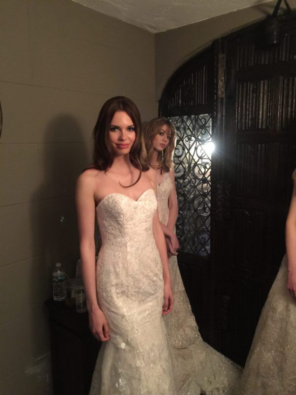 Beautiful Brides at Oleg Cassini Show with DJ Dave