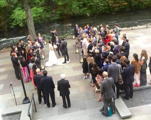 NYBG Wedding Ceremonyli