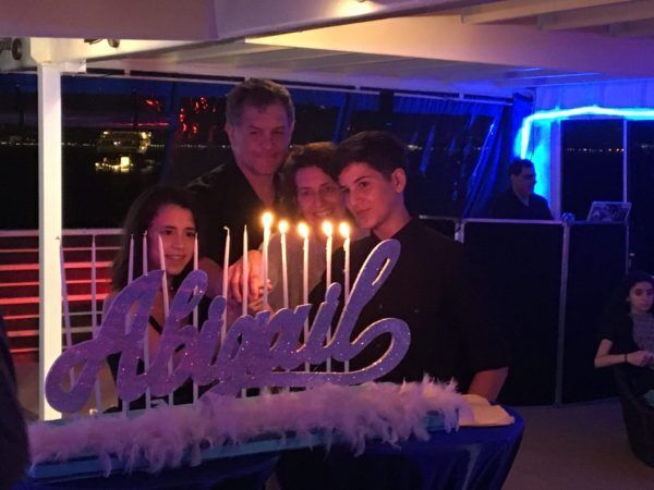 Bat Mitzvah Candle Lighting NYC