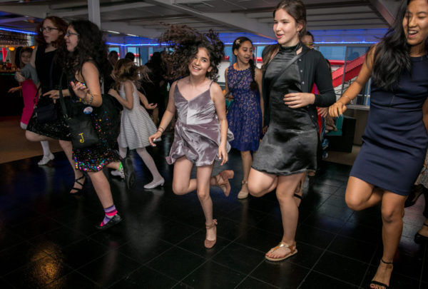 Bat Mitzvah Dancing on Yacht