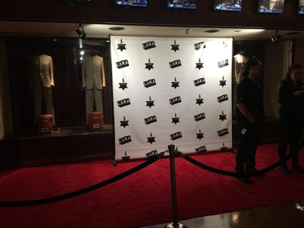 red carpet reserved for rock stars only