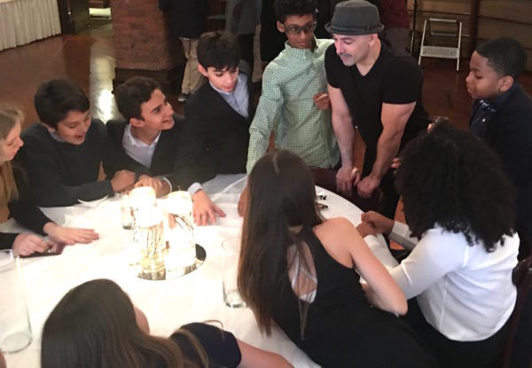 Trivia at Tribeca NYC bar mitzvah