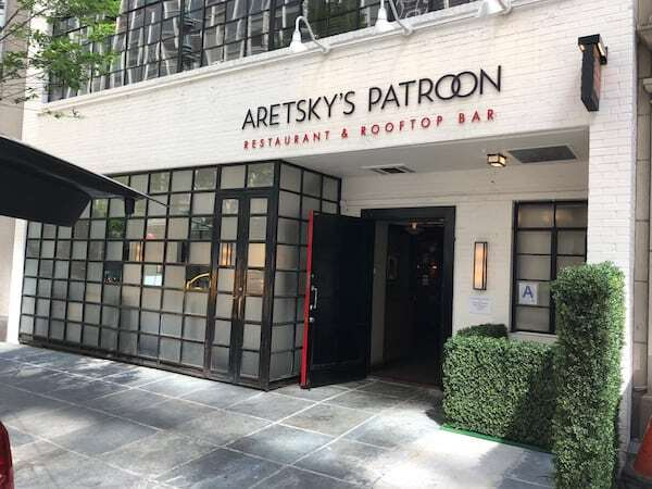 Front of Aretskys Patroon