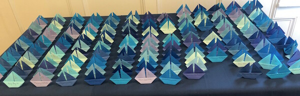 Sailboat Seating Markers