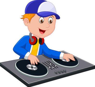 cartoon-dj-boy-on-white-background-vector-5660067