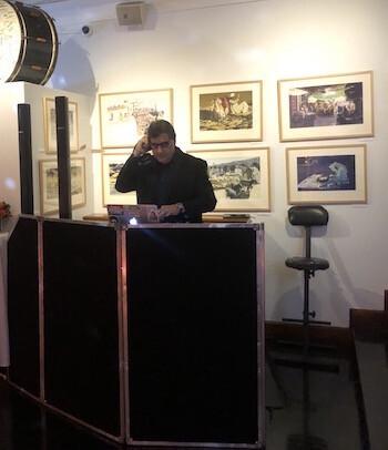 DJ Dave Swirsky at Society of Illustrators wedding