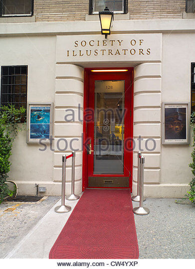 front entrance of Society of Illustrators
