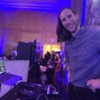 Close up of Expressway Music DJ