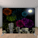 Fireworks back drop