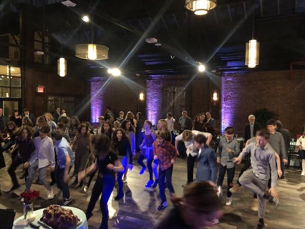 Mitzah dancing