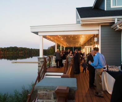 The mercer lake boathouse event space